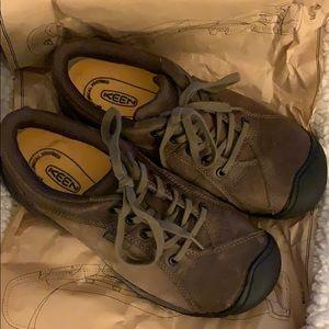 Keen work shoes.  Presidio. Worn twice.  EUC